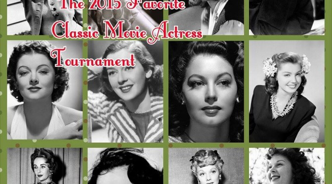 Round 2 of the Classic Actress Tournament to start this afternoon!